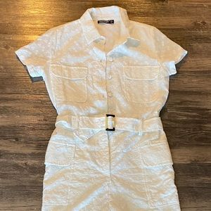 Nasty gal white romper